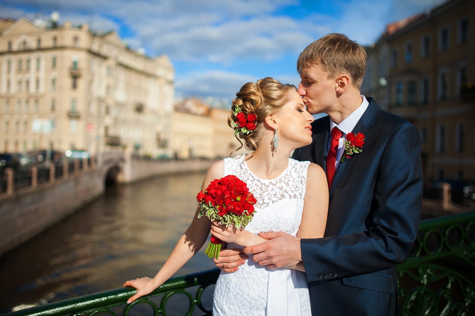 Хэллоуин, красивые свадебные фотографии